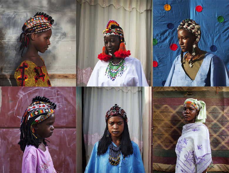 Tuareg headdresses